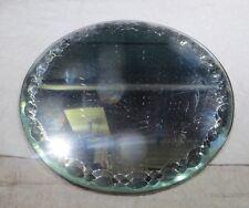 Glace ronde pouvant servir de sous bouteille ou autre