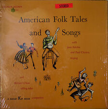 JEAN RITCHIE & PAUL CLAYTON: American Folk Tales and Songs-NM1957?LP
