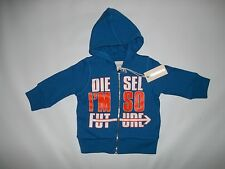 DIESEL I'm So Future Hooded SWEATSHIRT JACKET Infant Boys 6 Months 6M $55 NEW
