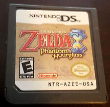 Legend of Zelda Phantom Hourglass Nintendo DS 3DS 2DS Tested! Authentic! Rare!