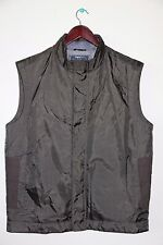Zegna Sport Mustang Men's  Vest Thermore Size XL Olive/Brown Color