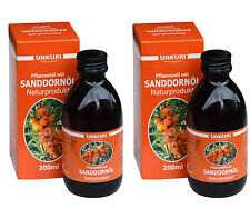400 ML 2x 200ml SEA BUCKTHORN OIL FROM ALTAI FROM PULP from Altai 0.4L 1L=