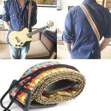 Ukulele Classic Style Strap Guitar COTTON Belt For Electric Bass Soft Adjustable