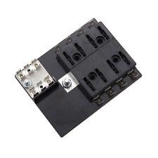 SpeedTech E-330111 ATO ® / ATC ® Fuse Block Panel 8 Blade Gang 12 Volt w/Grounds