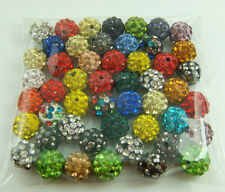 new 10mm Disco Ball Clay Cz bead for shamballa Accessories charm Wholesale h1