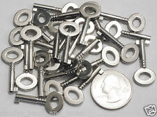 Small Antique Vintage Replica Open-Barrel Keys {Lot of 25} Jewelry Craft Art