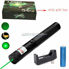 Tactical Burning Green Laser Pointer Military Sight Burning Beam NightHawk Style