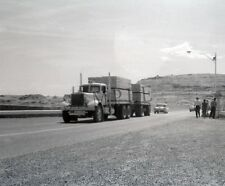 "1960's Mack Semi Truck hauling lumber out west 8""x 10"" Photo"