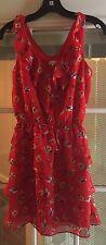 Women's Xhiliration Red Dress Size Small Target