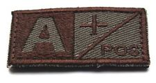 Blood Type IR Style Military Tactical Velcro Patch  SK   231