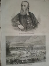 Late Dr Alford Dean of Canterbury 1871 print ref Z3