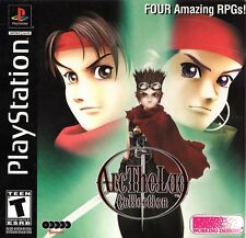 Arc the Lad Collection PS1 Great Condition Fast Shipping