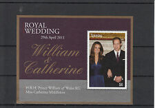 Tokelau 2011 MNH Royal Wedding 1v Sheet Cover Prince William Kate Middleton