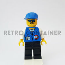 LEGO Minifigures - 1x res008 - Coast Guard Rescue - Town Omino Minifig 6437 6435