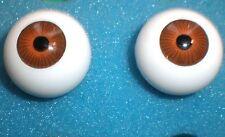 """Paire de plastique yeux marron 0.79""""/20 mm"""