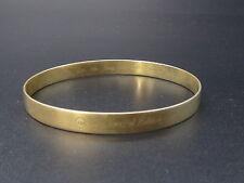 Vintage bracelet jonc en argent massif vermeil AM special edition