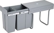 iN Under Kitchen Cabinet Double Pull Out Trash Can With Lid 8 Gal (See Notes)