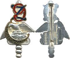 Centre Commando 9° Zouaves, translucide, A.B. 4188, (0235)