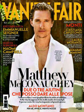 VANITY FAIR McCONAUGHEY MUSE CAMPBELL MONTANO SEIGNER SCICCHITANO MARCIANO