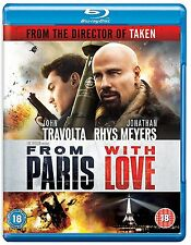 FROM PARIS WITH LOVE - BLU-RAY - REGION B UK