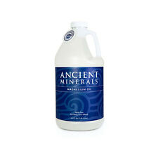 Ancient Minerals Magnesium Oil 64oz., 1.9L - Therapeutic Size - Pure Magnesium