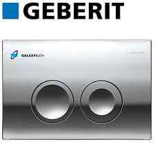 Geberit delta 21 bright chrome double chasse plaque pour duofix basic UP100 citerne