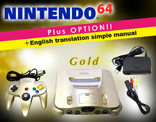 This is a very rare color! [You can play immediately!] NINTENDO 64/Gold