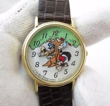 THREE LITTLE PIGS, Lorus by Seiko, Animated Dial, RARE MENS WATCH,1963, L@@K!