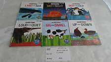 The World of Eric Carle 6 hardcover lot-Books work with smart pad #0229
