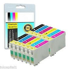 12 x Canon Cartouches D'encre CLI-8 & PGI-5 Bk Compatible For Printer iX5000