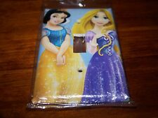 SNOW WHITE AND RAPUNZEL TANGLED PRINCESS LIGHT SWITCH PLATE