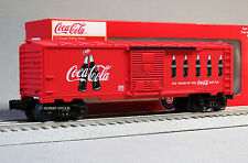 LIONEL COCA COLA ANNIVERSARY BOTTLE BOXCAR coke o gauge freight train 6-82690