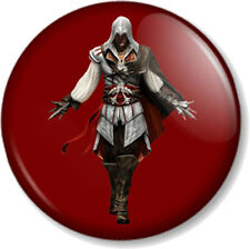 "Assassins Creed Ezio Red 25mm 1"" Pin Button Badge XBOX 360 PS3 Video Game Geek"