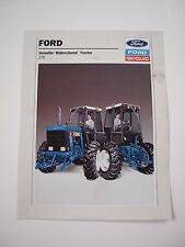 Ford New Holland Versatile 276 Bidirectional Tractor Color Brochure original '89
