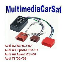 PHONOCAR 4/190 4190 INTERFACCIA AUDI A2 A3 SISTEMI AMPLIFICATI SUBWOOFER NO BOSE