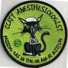 USAF CCATT ANESTHESIOLOGIST PATCH - 'PASSING GAS IN THE OR AND AT ALTITUDE  CO