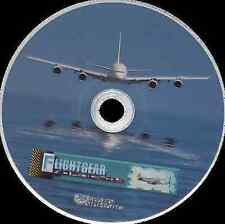2014 Sophisticated Flight Simulator FlightGear plus All scenery and extra planes