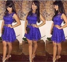 New Purple Lace Clubwear,Party Occasion Dress Small Medium Large XLarge