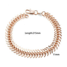 Womens Jewelry 14K Yellow Gold Filled Charm Centipede Chain Bracelet