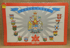 Sealed Package of 8 Canadian Centennial 1867 - 1967 Paper Placemats