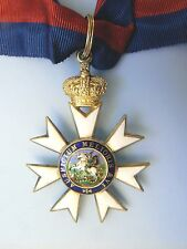 ENGLAND BRITISH EMPIRE ORDER OF ST MICHAEL AND ST GEORGE,COMMANDER, beautiful