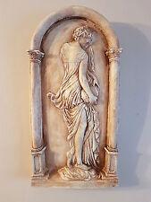 Portador de agua Dama griego decorativo recargado Placa de Yeso Colgante De Pared Regalo Nuevo
