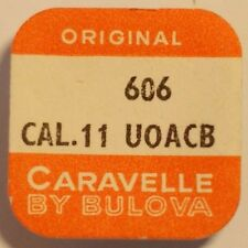 BULOVA/CARAVELLE  CAL. 11 UOACB   DATUMSTERN MITNEHMERRAD  PART No. 606   ~NOS~