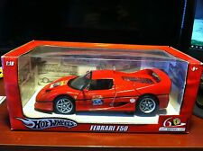 Hot Wheels 1:18 Scale Red Ferrari F50 NIB