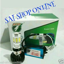 H4/H6 - 6 LED 35w M02 E HID Head Light Bulb 3500LM  Hi Low Beam  For Bike/Car .