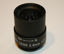 2.8 mm FIXED IRIS C Mount CCTV LENS PER VIDEOCAMERE di sicurezza - (mf-fi-2.8-c)