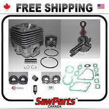 Fits STIHL TS350,360 08s CYLINDER,PISTON CRANK BEARING,GASKET REBUILD KIT*deal*