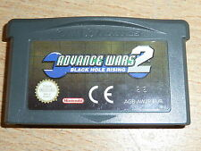 ADVANCE WARS 2 BLACK HOLE RISING - NINTENDO GAMEBOY ADVANCE SP DS LITE Game Cart