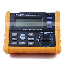 Digital DC/AC Voltage Resistance Insulation Tester MS5203 50V-1000V 0.01MΩ-100GΩ