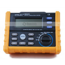 HYELEC MS5203 Digital Megger 1000V Digital Insulation Resistance Tester Meter